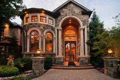 dream mansion Opulent Holladay Estate in Utah, Dream Home Design, My Dream Home, Deco Design, Design Case, Dream Mansion, Luxury Homes Dream Houses, Dream Homes, Dream House Exterior, House Goals