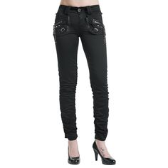 Rockchain Pants (Pantaloni donna) by Queen Of Darkness