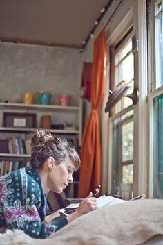 writing..