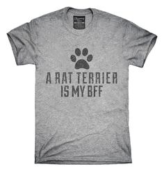 Cute Rat Terrier Dog Breed T-shirts, Hoodies,