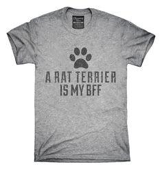 Cute Rat Terrier Dog Breed T-shirts, Hoodies,