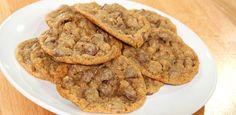 Graham Cracker Chocolate Chip Cookies Recipe Desserts with butter, brown sugar, vanilla, eggs, graham cracker crumbs, all-purpose flour, baking soda, salt, chocolate chips