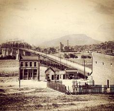 Walnut Street bridge. 1891