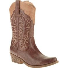 Faded Glory Women's Fashion Cowboy Boot ONLINE ONLY. $14.88