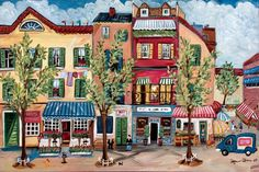 """""""French Street""""   by Suzanne Etienne"""