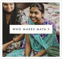 Mata Traders – a design driven, fair trade brand helping to end global poverty and inspire ethical companies and consumers to change the fashion industry