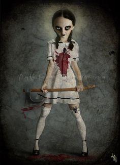 horror art | Tumblr