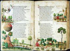 """Antonio Grifo, """"Canzoniere"""" di Petrarca, 1470, Biblioteca Civica Queriniana di Brescia, Italy"""