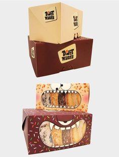 Donut Monster Packaging in Packaging