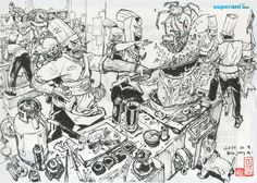 Artist of the Day: Kim Jung Gi