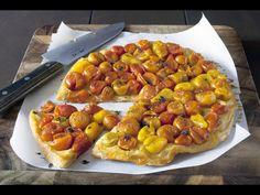 Tarte tomates cerises