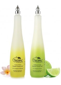 Stunning oils...choose from refreshing or relaxing. 100% plant extract...Tropic skincare https://www.facebook.com/TropicPurePlantBeautyAmanda
