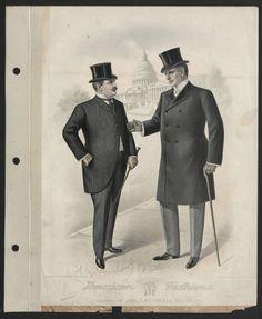 1900, Plate 009 :: Costume Institute Fashion Plates