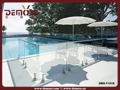 13 Swimming Pool Glass Fence Ideas Glass Fence Fence Front Yard Fence