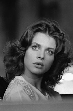 Nastassja Kinski on the set of La Lune Dans le Caniveau (The Moon in the Gutter), directed by  Jean-Jacques Beineix