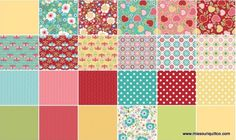 Oh so cute!! Apple of my Eye #quilting #fabric by The Quilted Fish for Riley Blake Design