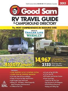 2013 Good Sam RV Travel Guide & Campground Directory