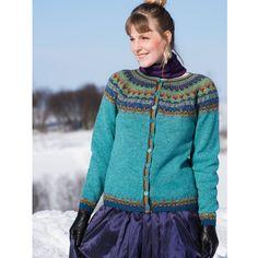 Hillesvåg, Klara - kofte med rundfelling i Ask Color Inspiration, Knitwear, Winter Fashion, Wool, Band, Sweaters, Pattern, Clothes, Ravelry