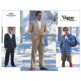 Vogue Patterns V1753 Men's Jacket, Vest, Shorts and Pants, Size 44-46-48 - http://sewingpins.net/sewing/sewing-patterns/vogue-patterns-v1753-mens-jacket-vest-shorts-and-pants-size-44-46-48/