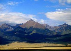 Been: Horn Peak in the Sangre de Cristo mountain range. Elevation: 13,450 ft.