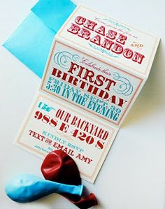 vintage circus birthday invitations | Muffin Grayson