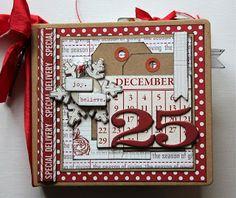Christmas Mini by Mary-Ann Maldonado  #Christmas #minialbum #decemberdaily