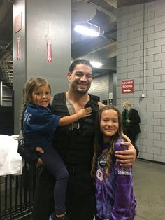 Roman Reigns and his cousin's