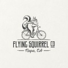 Flying Squirrel Co. is a company which make eco friendly products like soaps, lotions and other various articles. The idea for this logo has come after a couple of full essence feedbacks from the client, and of course, after many hours of work from me.