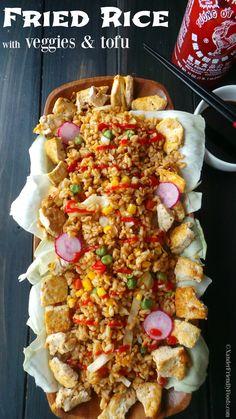 ... fried rice fried rice more dinner vegan foodie veggie fried rice