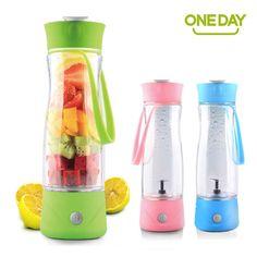 ONEDAY SB60145 350ML Automatic Juicer Electric shaker Juice Cup blender my water bottle Juice Bottle detachable smart mixer USB