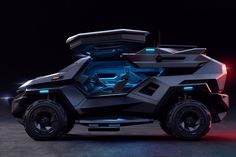 This armored vehicle is for people who think the Tesla Cybertruck isn't intense enough