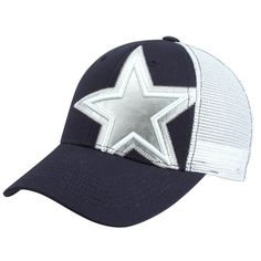 22482a1851552 New Era Dallas Cowboys Women s Snyder Adjustable Hat - Navy Blue