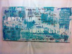 huwelijkskado Open Up, Kunst