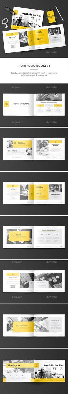 #Portfolio - Portfolio #Brochures Download here: https://graphicriver.net/item/portfolio/18730044?ref=alena994