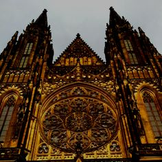 St.Vitus Cathedral Prague Oh The Places You'll Go, Places Ive Been, Prague, Barcelona Cathedral, Bucket, Faces, Pictures, Photos, The Face