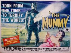 1959 movie posters | THE MUMMY 1959 Landscape - hammer horror b movie posters wallpaper ...