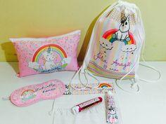 kit festa do pijama unicornios