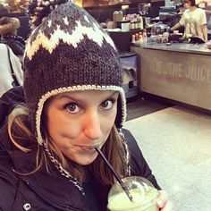 Just saw the fam off - first stop giant green juice. Time to start detoxing all those chocolate caramels....