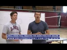 Read the Game Defense Volleyball Drill - AVCA Video Tip of the Week