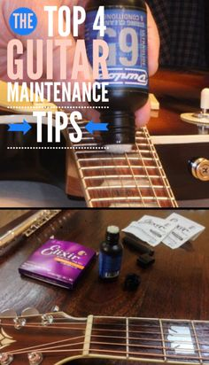 Guitar Maintenance Tips - 4 Great Ways To Stay On Top Of Your Guitar Maintenance #guitar GuitarHippies - Inspiring Your Musical Journeys
