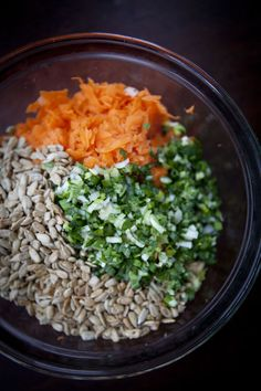 Civilized Caveman Cooking's Weekly Meal Plan (03/20/2015): Carrot and Sunflower Seed Salad | Our Four Forks
