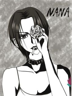 Discovered by ハーリ. Find images and videos about black and white, anime and manga on We Heart It - the app to get lost in what you love. Manga Art, Manga Anime, Nana Tattoo, Nana Manga, Nana Osaki, Anime Qoutes, Smoke Art, Manga Covers, Aesthetic Anime