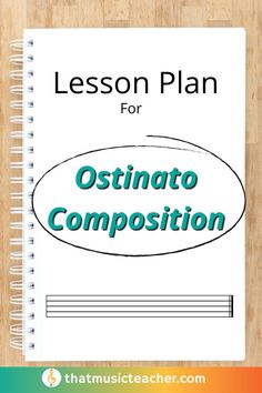 Worksheet is included! Grab this lesson plan for Ostinato Composition today! #Composition #LessonPlan #Teacher #TPT #Education #Ostinato #Lesson Teaching Music, Music Teachers, Benefits Of Music Education, General Music Classroom, Elementary Music Lessons, Music Lesson Plans, Literacy, Composition, Class Activities