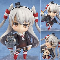 Nendoroid 459 Amatsukaze Kantai Collection Anime Figure Good Smile Company Japan Now in stock! Buy it now at: stores.ebay.com.au/Figure-Central