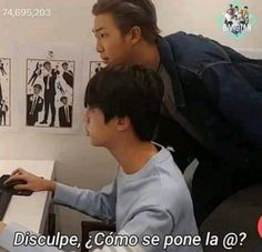 Namjin, Bts And Exo, Bts Jin, Taekook, Bts Memes, Bts Reactions, The Scene, Kpop, Meme Faces