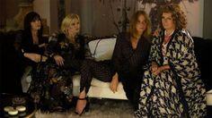 "Daisy Lowe, Lara Stone, Stella McCartney e Jennifer Saunders - grande elenco no filme de ""AbFab""!"