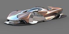 RAIJIN&RAIJU by HERMAN DELOS SANTOS, via Behance Muscle Cars, Top Luxury Cars, Futuristic Cars, Futuristic Architecture, Car Sketch, Car Wheels, Concept Cars, Armor Concept, Automotive Design