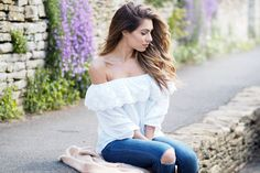 How To Style The Bardot Top | LYDIA ELISE MILLEN | Bloglovin'