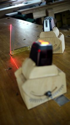Benchcrafted: Laser Beams