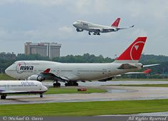 Northwest Airlines Boeing while above another Northwest 747 on final approach. Northwest Airlines, Interview Preparation, Air Lines, Commercial Aircraft, Civil Aviation, Boeing 747, Alma Mater, Airports, Military Aircraft